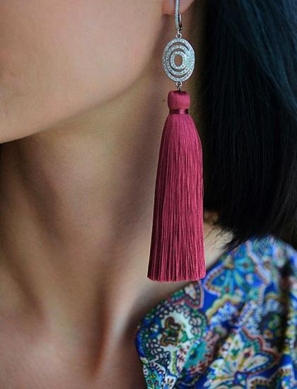 Женские украшения из натурального камня Украина