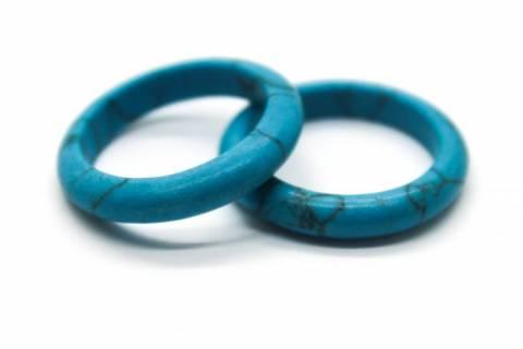 Купить кольцо из натурального камня бирюза, цена Киев Украина. Кольцо из натуральных камней бирюза в интернет магазине украшений Darsana