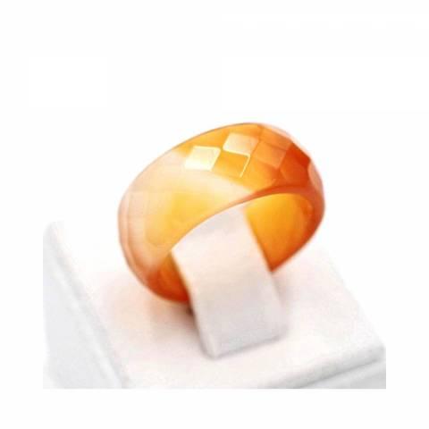 Купить кольцо из натурального камня сердолик, цена Киев Украина. Кольцо из натуральных камней сердолик в интернет магазине украшений Darsana