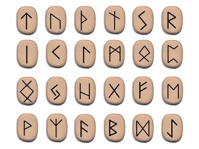 Купить украшение с рунами из натурального камня. Руна, значение в украшениях. Интернет-магазин DARSANA Украина